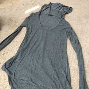 Brandy Melville long sleeve with hood
